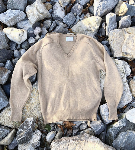 Wool V Neck Sweater