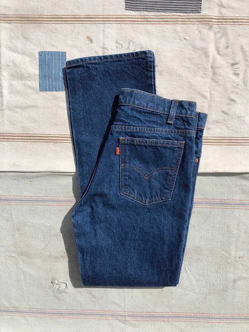 Vintage Union Made Levi's Orange Tab Denim