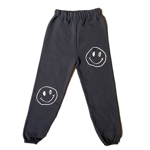 Lil Ballers Smiley Face Sweatpants