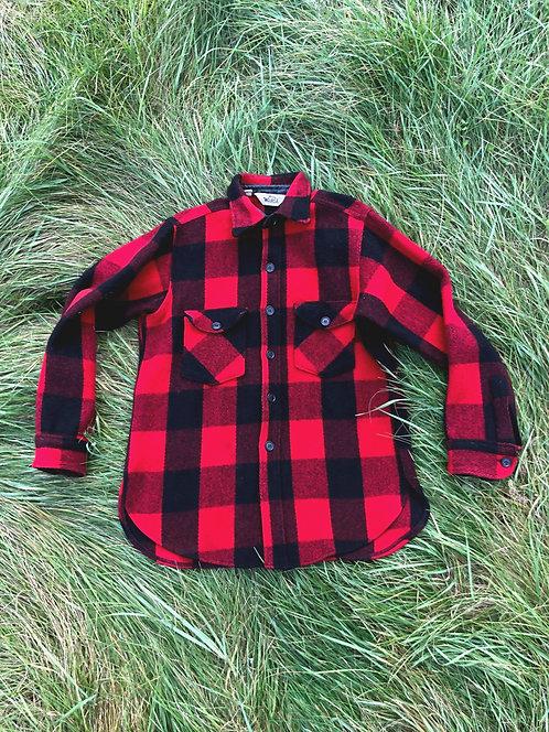 Vintage Woolrich Wool Flannel Jacket