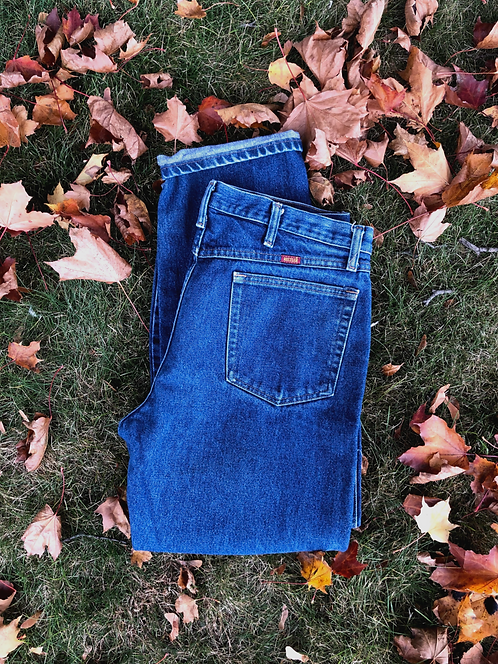 Well Loved Vintage Rustler Denim