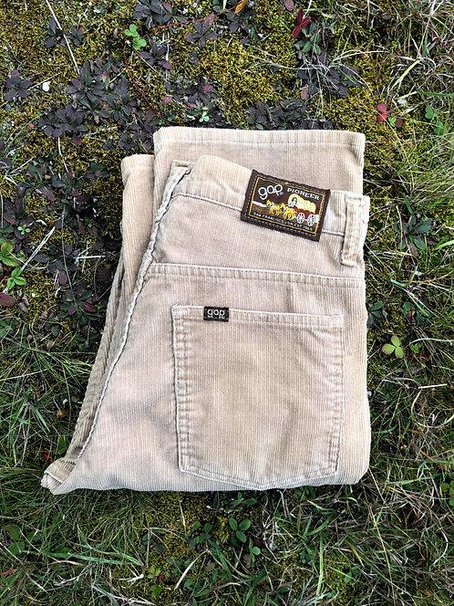Vintage Gap Pioneer Corduroy Pants