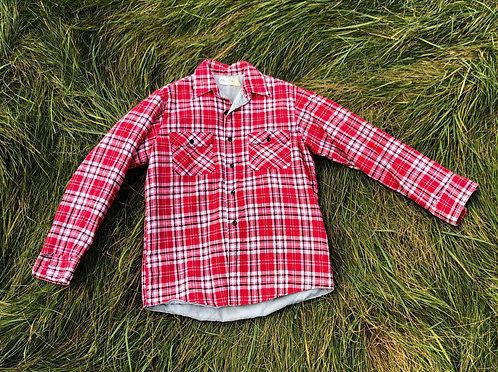 Vintage Insulated Flannel Button Down