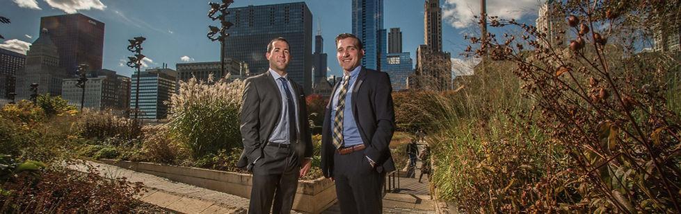 Attorneys Drew Ball and Steve McCann
