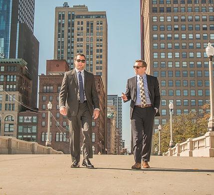 Attorneys Drew Ball & Steve McCann of Ball & McCann, P.C.
