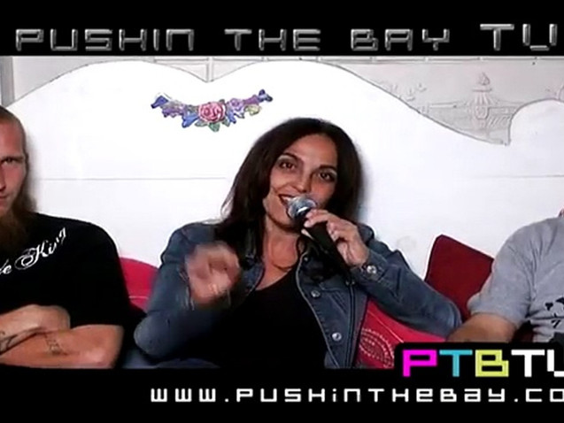 """Leila, Brahim, and Insanity appear on """"Pushin the Bay TV"""""""