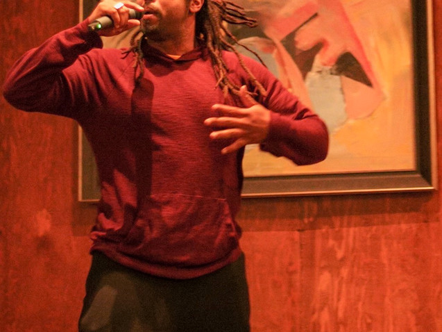Los Angeles Rapper Louii King performs at Change the Tune