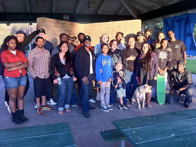 Aim Community BBQ Event in Long Beach