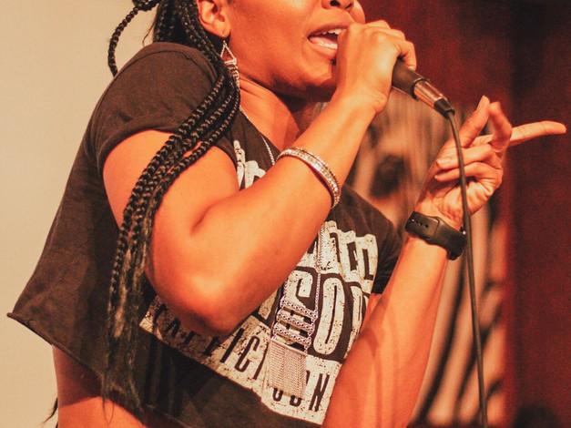 Rapper/Performer Keki Dexter performs at Change theTune event