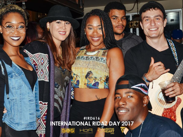 Members at the International Ridaz Day 2017