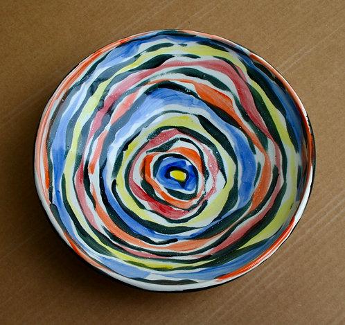 Large Multicolor Bowl