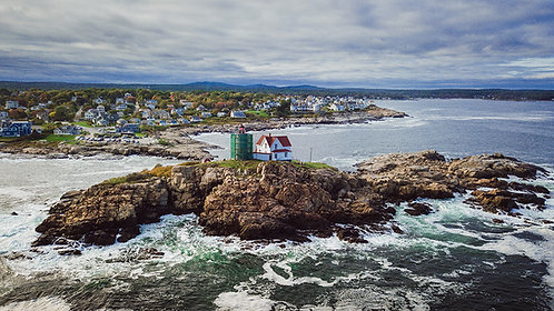 Nubble Lighthouse - York, ME - NEW!