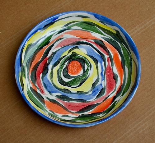 Medium Multicolor Platter