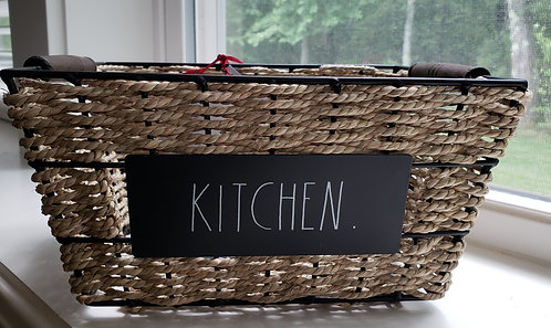 Metal Kitchen Basket - NEW!