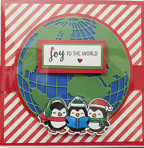 Joy to the World 1 Card - only 6 available - NEW!