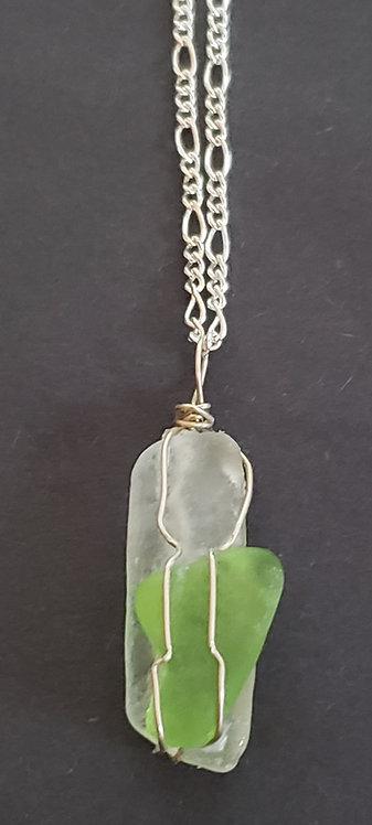 Small Sea Glass Necklace 5