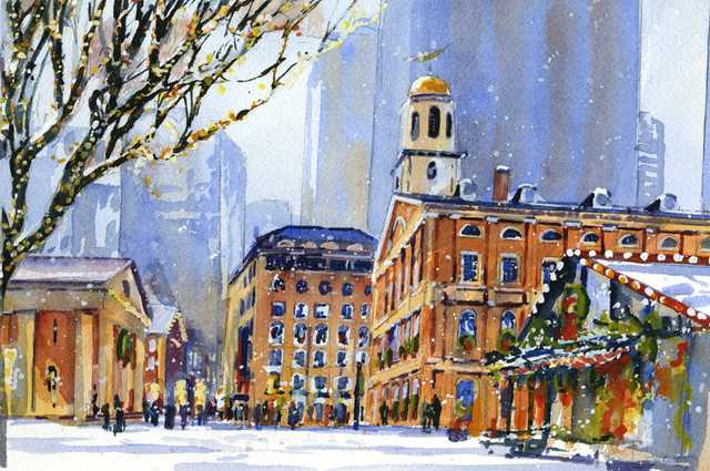 Faneuil Hall Holiday