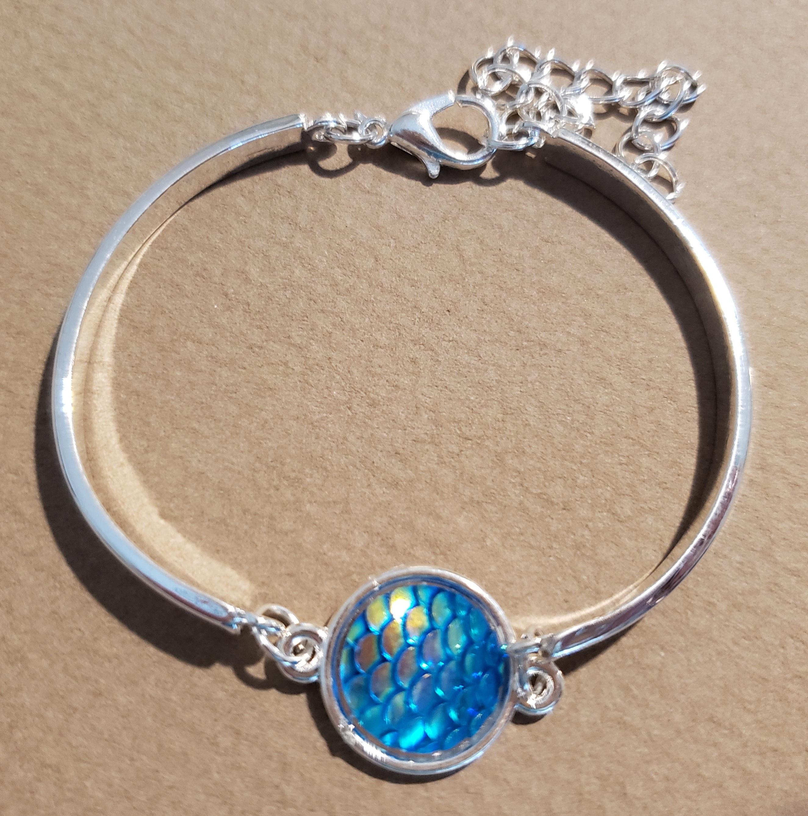 Mermaid Bracelet - color teal