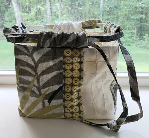 Modern Rice Pouch Drawstring Bag - only 1 available- NEW!