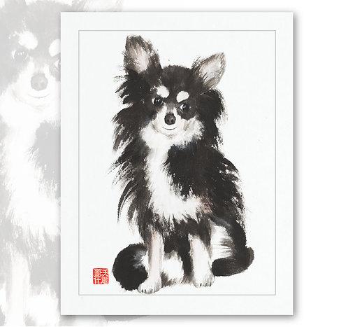 Cute Dog Card