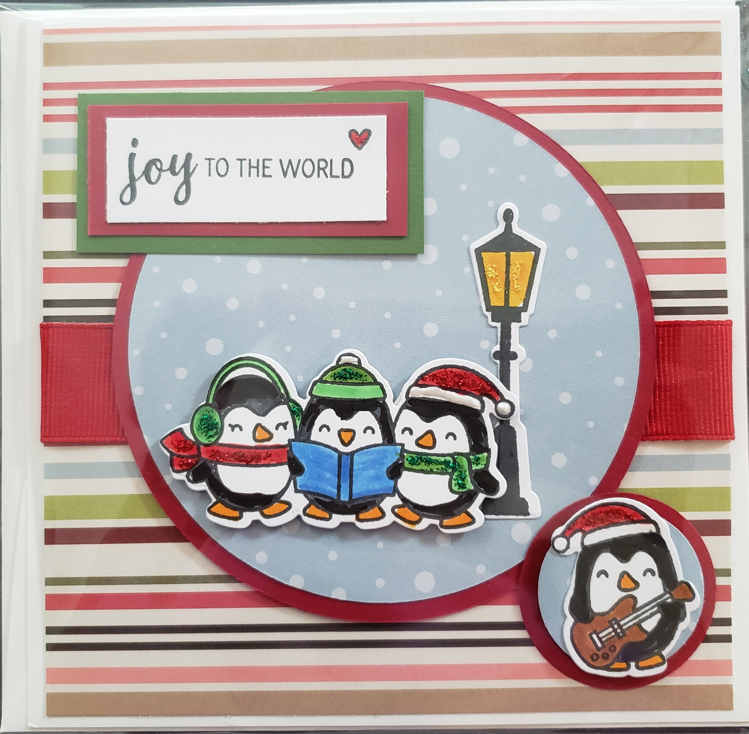 Joy to the World - penguin and guitar (1