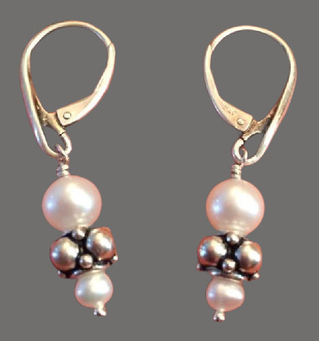 Fresh Water Pearl Earrings 1 - NEW!