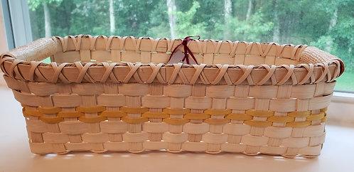 Handwoven Yellow Bread Basket - NEW!