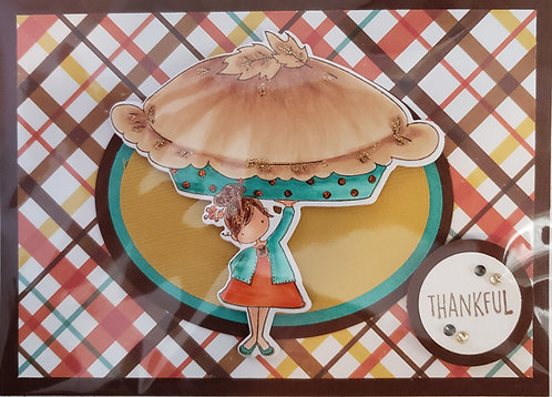 Thanksgiving Card - only 4 available - NEW!