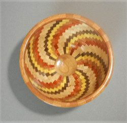 Wooden bowl view 2