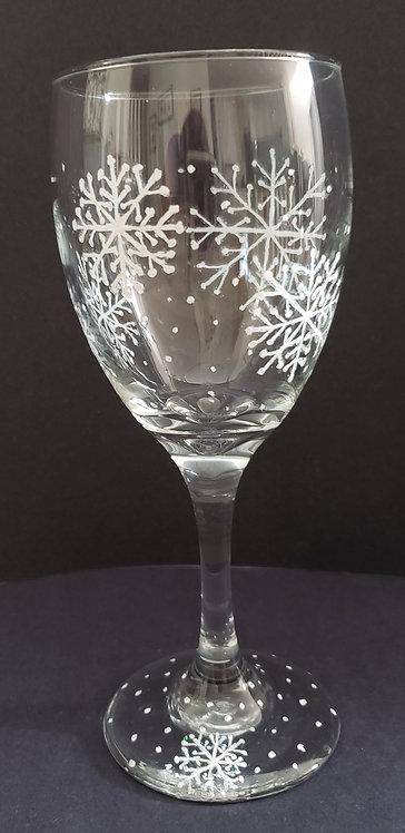 Snowflake Wine Glasses (2)