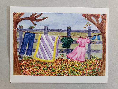 Summer's Over Card - NEW!