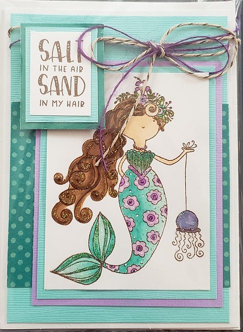 Salt in the Air Card -only 3 left!