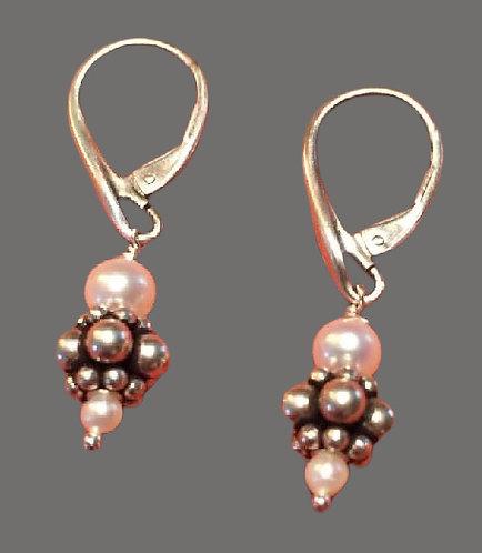 Fresh Water Pearl Earrings 2