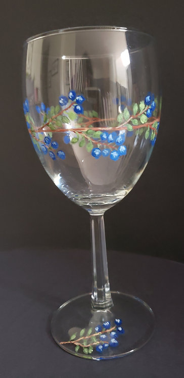 Blueberry Wine Glasses (2)