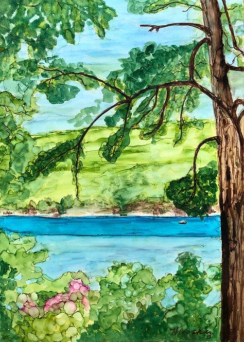 Large Framable Card - Glen Lake