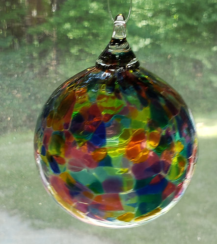 Small Ornament (jewel color) - ONLY 2 left