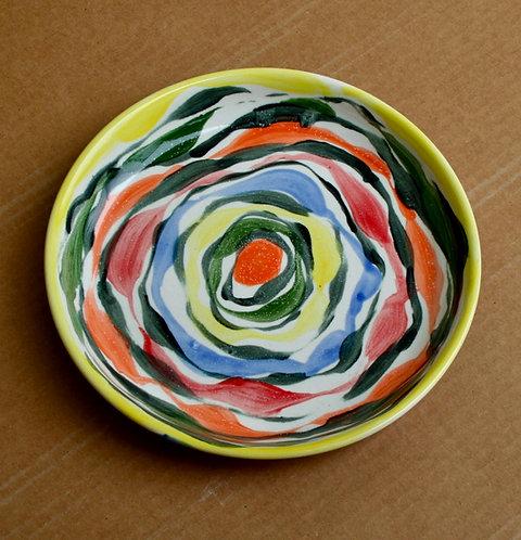Small Multicolor Platter