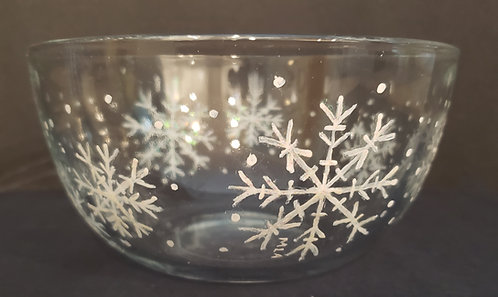Snowflake Bowl - only 1 available - NEW!
