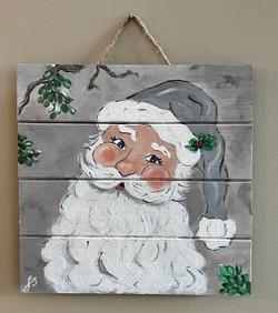 Santa Claus Panel silver