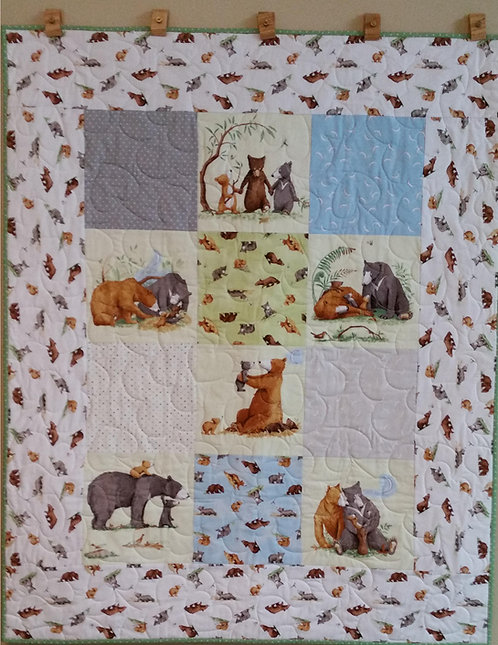 Bear Baby Quilt