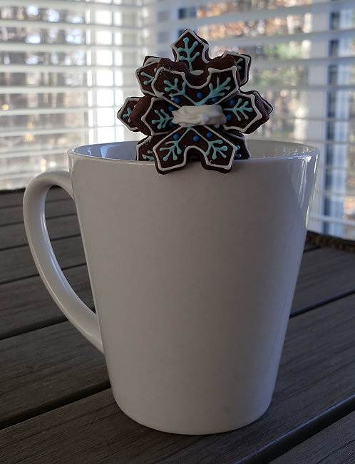 Snowflake Mug Buddy Cookie Duo Set - ONLY 2 LEFT!
