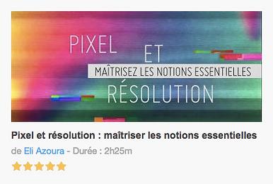 Tutocomprendre les pixels et la résolution