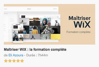Tuto sur Wix en français la formation complète