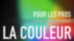 formation LA COULEUR POUR LES PROFESSIONNELS par Eli Azoura