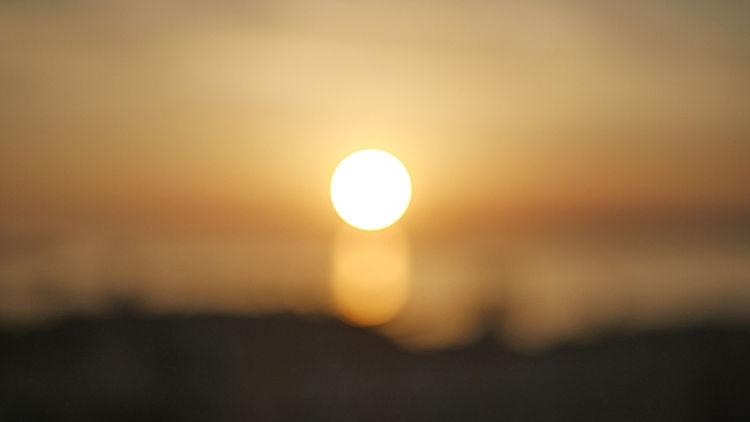 Coucher de soleil sur Marseille par Eli AZOURA