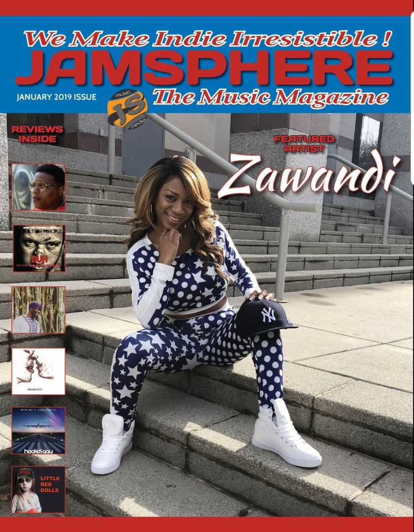 Jamsphere magazine cover