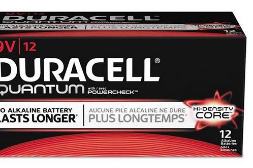 Duracell Quantum 9v Batteries