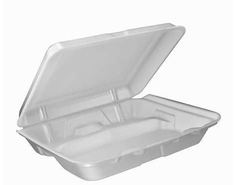 Foamed Hinged Lid Container