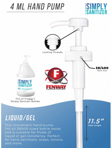Simply Sanitizer - Pump for 1 Gallon