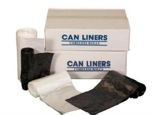 Can Liner Natural High Density 38 x 60 - 14 MIC